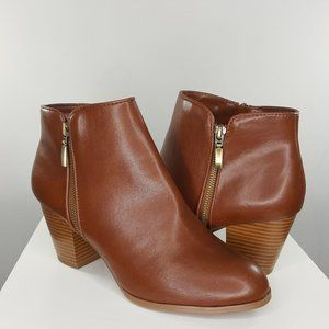 NEW Style & Co Jamila Zip Ankle Booties